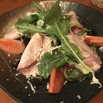 ザオー - 自家製生ハムのサラダ