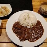 松阪牛焼肉&熟成牛タン 肉兵衛 - 松坂牛カレー全景