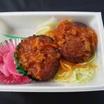 新発田家 - 料理写真:ハンバーグ弁当