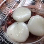 秋元菓子舗 - 白玉ぜんざい