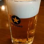 香香飯店 - 生ビール