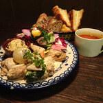 ルーエプラッツ ツオップ - 若鶏のマスタードソース1600円