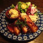 ルーエプラッツ ツオップ - 豚肉の無花果ソース