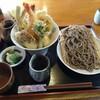 Kakurean - 料理写真:天丼定食 冷たいそば
