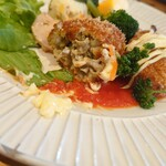 奈良食堂 - 牡蠣、わかるかなー。