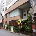 鉢の木 - お店は浅草駅から歩いて5分ほど。