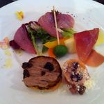 ラ ファーメ - 前菜の盛り合わせ