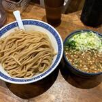 Meigenso - 濃厚つけ麺(特盛)920円。
