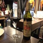 ベジバル Itaru 池袋 ~Vegetable Bar & Organic~ - 本日の濃い赤ワイン(800円)