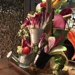 ベジバル Itaru 池袋 ~Vegetable Bar & Organic~ - ベジ盛りガーデン(お特盛り 1,480円)