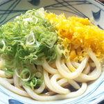 丸亀製麺 - ぶっかけ冷大380円