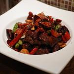 上海厨房 - 鶏手羽先の激辛四川スタイル