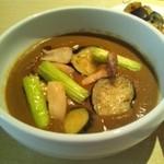 ン・オリジナルカレー - 季節の野菜カレー
