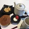 カフェ・ド・ジヴェルニー - 料理写真:ムンクのどら焼きセット