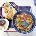 樹庵 - 料理写真:天ぷらそば