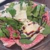 キクチ - 料理写真:葉山牛タタキのカルパッチョ