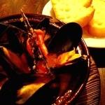 ANTICA LOCANDA - ムール貝の白ワイン蒸し