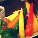 ANTICA LOCANDA - 山盛り野菜のバーニャカウダ