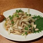 チキンプレイス - 鶏皮ポン酢
