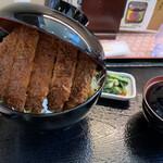 明治亭 - 2021/2/14 ランチで利用。 ソースカツ丼(1,380円+税)