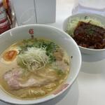 麺屋 匠 - たくみラーメン+ミニデミカツ丼セット