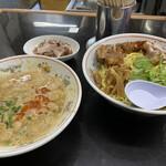 手打らーめん 勝龍 - つけ麺タンタン大盛 ¥1160