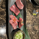yakinikuenta - ランチ 牛タン盛り合わせ