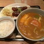 若鯱家 エスカ店 - カレーセットB
