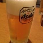 14639620 - 生ビール(中)  ¥525