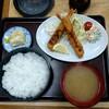 Juugoyahonten - 料理写真:エビフライ定食