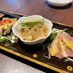 chaini-zudainingufuukirou - 前菜