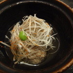 ひら井 - 3品2000円 大羽鰯つみれ煮