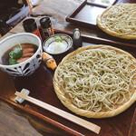 手打ち蕎麦 お乃 - 料理写真:鴨ざる蕎麦 1300円