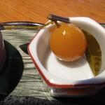 三笠会館 聖せき亭 - 前菜小鉢アップ
