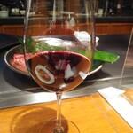 三笠会館 聖せき亭 - やっぱりワインってこれくらいの量で飲むのが大人だよね笑