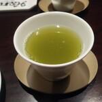 三笠会館 聖せき亭 - お茶も届きます