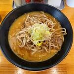 東座 - 濃厚味噌白湯そば  850円