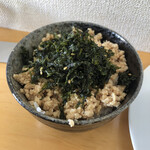 頂湯 sora - 鶏そぼろ丼