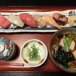 とみや - 料理写真:'21/02/21 トロにぎりセット(外税1,250円)