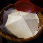 前蔵 - .....③自家製ざる越し豆腐.....