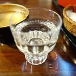 前蔵 - .....②純米生原酒  お店の方に『WINKで見た』と言うと.....  サービスしていただけるそぅな.....