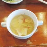 あおぞら コーヒー ダイニング - 季節のスープ