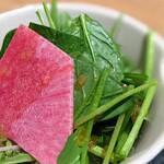 柳橋焼にく わにく - サラダ(焼肉セット~特選焼肉ランチ)