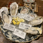 牡蠣ツ端 - * 生牡蠣食べ比べ6種盛 2,480円* 生牡蠣食べ比べ6種盛 2,480円