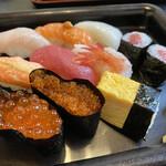 鮨の東龍 - 料理写真:ランチ:寿し膳