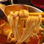 なんちち食堂 - 灼熱そば麺