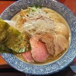 麺処ほん田 -  特製塩らーめん950円+中盛50円
