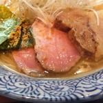 麺処ほん田 - チャーシューは美味しくなりました。