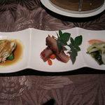 kaisenyakuzenchuukatonfon - リトルチャイナコースの前菜