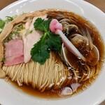 むぎとオリーブ - 料理写真:蛤SOBA  ¥1000